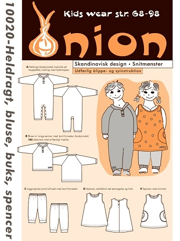 Onion 10020 - Heldragt-bluse-buks-spencer