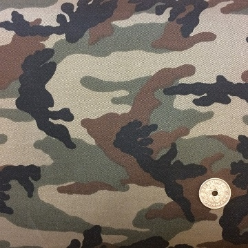 Denim stretch - Camuflage