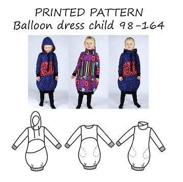 2e5fc22923e Symønster - Flotte tøj symønstre og snitmønstre til børn og voksne