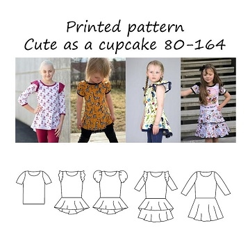 Made by Runi - Cute as a cupcake - str. 80-164