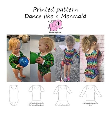 Made by Runi - Dance like a Mermaid - str. 80-164