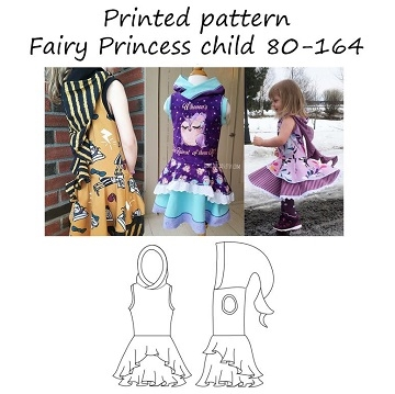 Made by Runi - Fairy Princess Child - str. 80-164