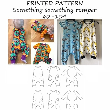 Made by Runi - Something something romper - str. 62 - 104