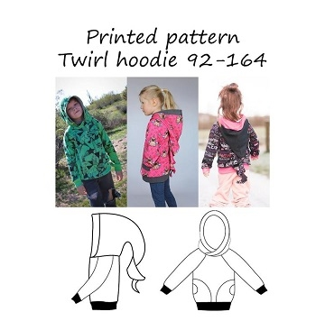 Made by Runi - Twirl hoodie - str. 92-164
