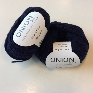 Superfine Merino - Navy - fv. 005